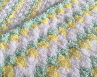 Fleecy baby blanket
