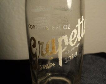 1946 Grapette Grape Soda 6 oz Camden, Arkansas