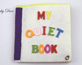 Felt Quiet/Busy Book - 10 pages