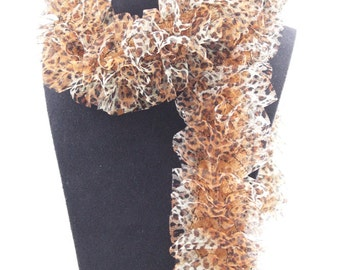 Frou frou Leopard scarf
