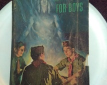 Vintage Boy Scout Handbook For Boys (Great Shape) 1955(Reduced)