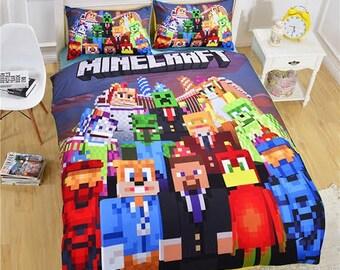 Minecraft Bedding #3 - Duvet Cover Set