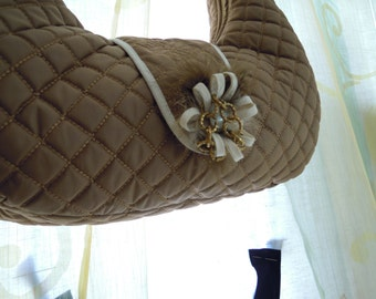 Quilted fabric bag
