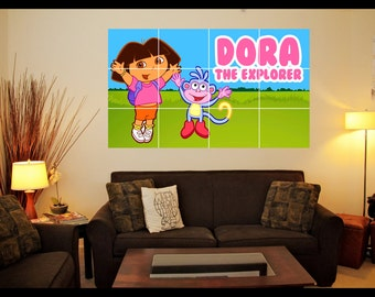 Dora the Explorer Wall Art