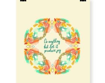 Produce Joy art print