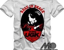 Pimp C RIP Graphic Tee T-Shirt UGK Underground Kingz Hip-Hop