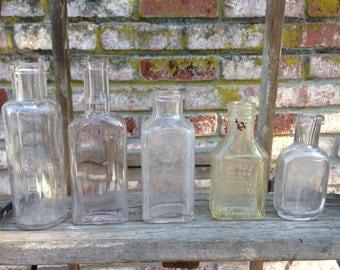Various Vintage Bottles
