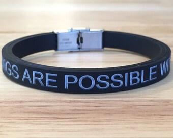 FREE SHIPPING-Silicone Bracelet,Stainless Steel Bracelet,Memorial Bracelet,Mens Bracelet,Unisex Bracelet,Personalized Bracelet,Rubber Bangle