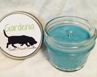 Gardenia Candle 4oz - Soy/Paraffin