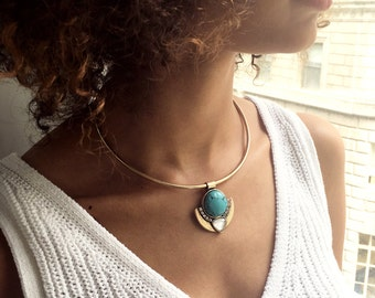 Dreamy turquoise necklace