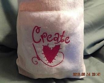 CREATE  HEART TOTE !