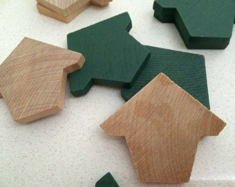 Bird House Wooden Cutouts x50