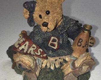 "Here's Boyd's Bears Collection  ""BAILEY THE CHEERLEADER""."