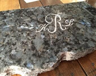 Personalized Granite Cutting Board/ Hot Plate