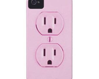 Pink Plug Phone Case