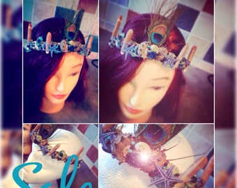 Gothica Mermaid crown