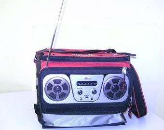 VINTAGE COCA COLA radio cooler