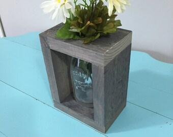 Gray Single Vase