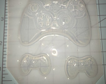 3 pc Game Controller - Plastic Resin Mold