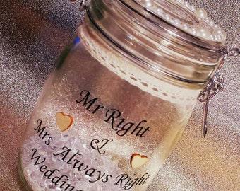 Wedding fund jar, wedding fund, jar,