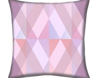 Kaleidoscope Gelato Throw Pillow