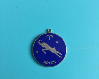 Aries Astrology sign pendant