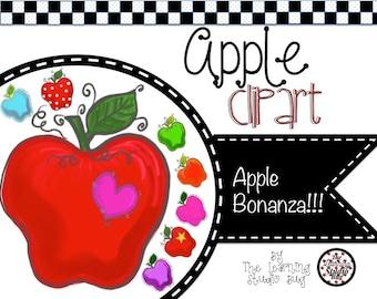 Fun & Whimsical Apple Clipart