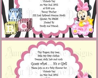 Disney Baby Shower | Etsy
