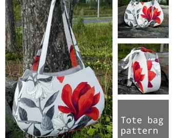 Tote bag pattern PDF
