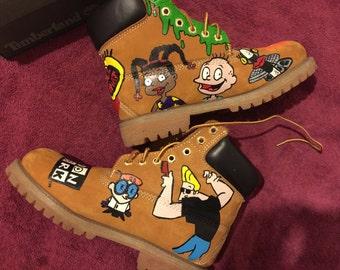 Custom Children's Timberland boots