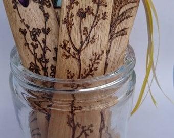 Wood Bookmark, Chamomile