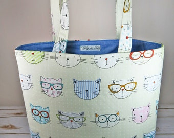 Imogen Cool Cats Tote Bag