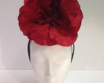 Flower hat, fascinator, headpiece