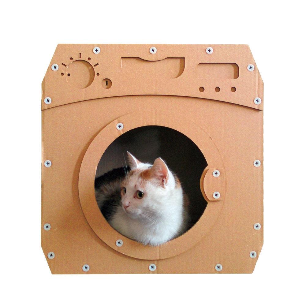 Wash Cardboard Cat HouseCat FurnitureCat ToyCat BedCat