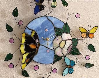 Unique Clock Butterflies