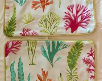 Tropical Print Zippered pillow covers