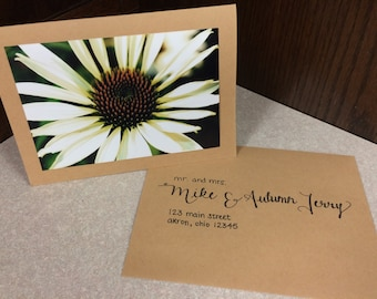 Handwritten Envelope Addressing (varying styles)