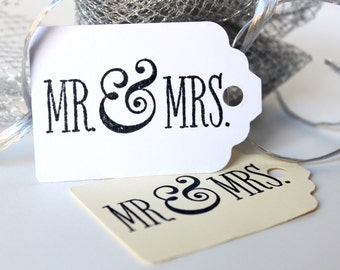 Wedding Gift Tags, Shower Gift Tag, Mr & Mrs Gift Tags, Hang Tags, Formal Hang Tag, Gift Tags