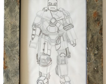 Iron Man Mark 1 Blueprints Marvel