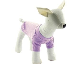 Violet Dog T-Shirt - Dog Tees - Dog Shirts - Pet Shirts - XXS to XXL