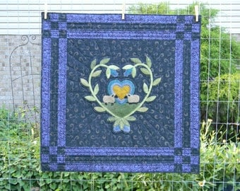 Feed My Sheep- Wool Applique Quilt Pattern