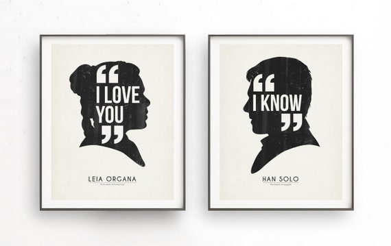 Star Wars Love Quotes Adorable I Love You I Knowstarwars Quotehan Solo And Leia Organa.