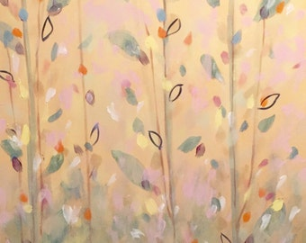 Spring Trees-painting