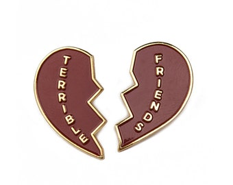Terrible Friends Enamel Pin