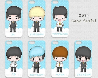 Kpop GOT7 Phone Cases Ver.2