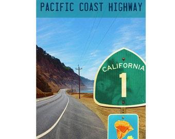 Pacific Coast Highway Number 1 Original Poster