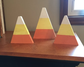 Candy corn (set of 3)