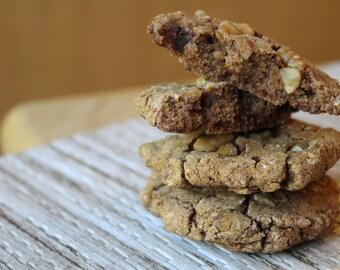 Two Dozen Maple Pecan Protein Cookies- Vegan, Vegetarian, Gluten Free, Sugar Free, Paleo, Clean Eating