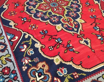Brilliant Turkish Gocmen Kilim