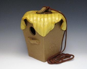 Wren/Chickadee Birdhouse - Sunflower Collection